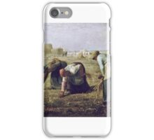 Jean-François Millet - The Gleaners iPhone Case/Skin