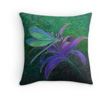 """Dragonfly Dreams"" Throw Pillow"