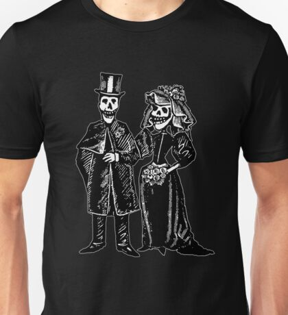 Skeleton Wedding Unisex T-Shirt