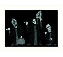 beware of hitchhiking ghosts Art Print