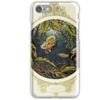 Butterfly and bumblebee iPhone Case/Skin