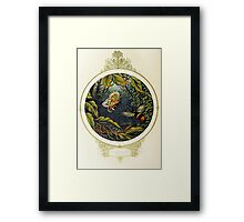 Butterfly and bumblebee Framed Print