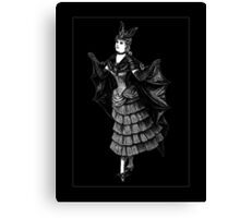 Victorian Bat Canvas Print