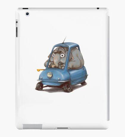 Driving Elephant iPad Case/Skin