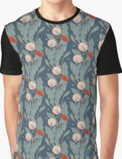 dark pattern with dandelion  Graphic T-Shirt