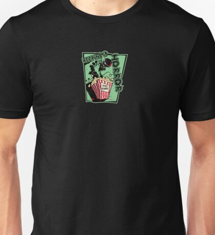 Keeping it Horror: Microphone Unisex T-Shirt