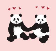 Panda Love One Piece - Short Sleeve