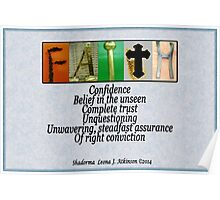 FAITH--Wall Hanging Poster