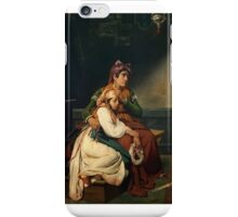 Jean-Victor Schnetz - Vow to Our Lady  iPhone Case/Skin
