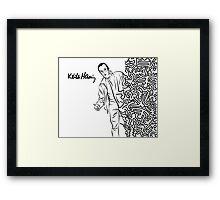 Keith Haring Framed Print