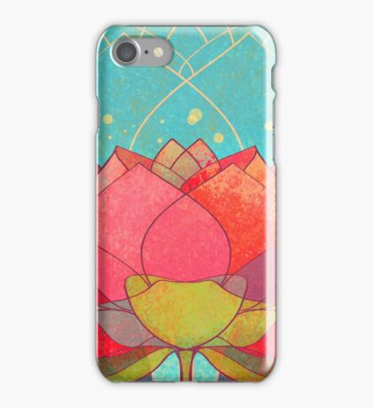 space lotos iPhone Case/Skin
