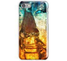 Buddha Face gold iPhone Case/Skin