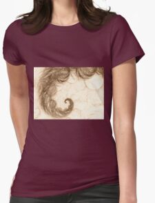 abstract color Womens Fitted T-Shirt