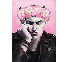 Flower crown Ronan Photographic Print