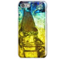 Buddha Face yellow iPhone Case/Skin