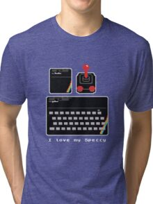 I love my Speccy! Tri-blend T-Shirt