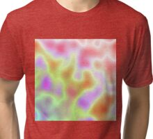 Pastel Coloured Clouds Tri-blend T-Shirt