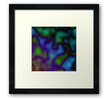 Dark Coloured Clouds Framed Print