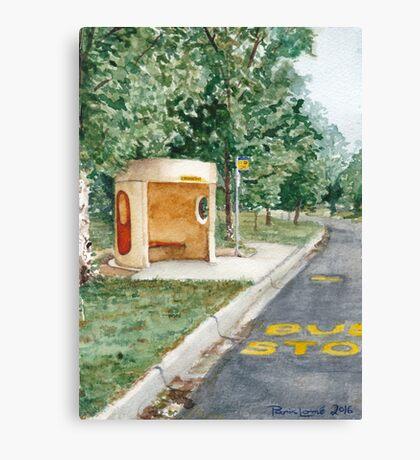 Canberra Bus Stop Richardson Canvas Print
