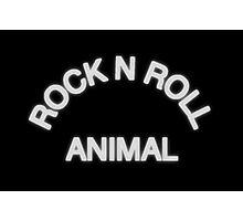 Rock N Roll Animal Photographic Print