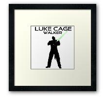 Luke CageWalker Framed Print