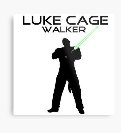 Luke CageWalker Metal Print