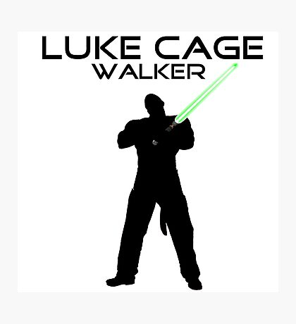 Luke CageWalker Photographic Print