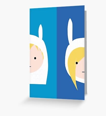 Finn & Fionna Greeting Card