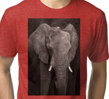 Little Ellie In The Middle Tri-blend T-Shirt
