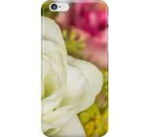 One white rose iPhone Case/Skin
