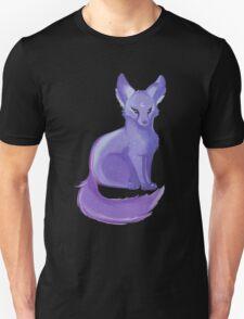 Cosmic Fox - Lunar Lavender Unisex T-Shirt