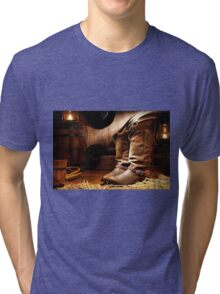 Cowboy Tri-blend T-Shirt