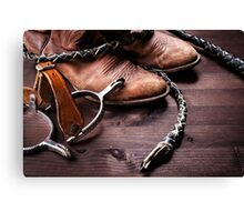 Acs Cowboy Canvas Print