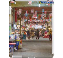 Colorful Korean Marketplace iPad Case/Skin