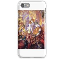 John Anster Fitzgerald - The Concert iPhone Case/Skin
