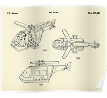 Lego Helicopter-1994 Poster
