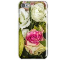 Many colored flowers iPhone Case/Skin
