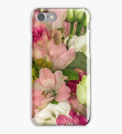 Various flowers close iPhone Case/Skin