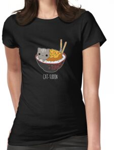 Catsudon Womens Fitted T-Shirt