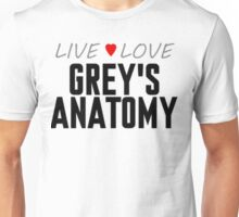 Grey's Anatomy - Love Unisex T-Shirt