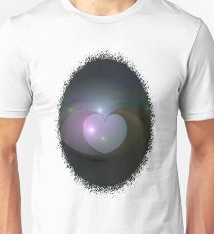 Please Rescue My Heart Fractal Unisex T-Shirt