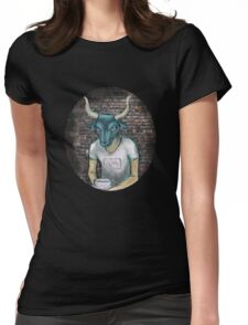 Minotaur aka Lonely Boy Womens Fitted T-Shirt