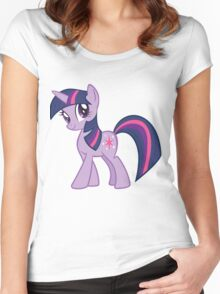 Twilight Sparkle Women's Fitted Scoop T-Shirt