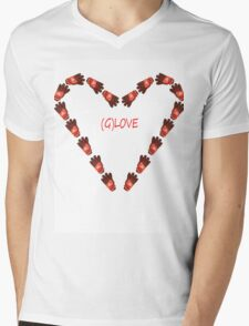 (G)LOVE Mens V-Neck T-Shirt