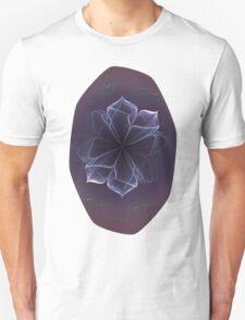 Amethyst Ornate Blossom in Soft Pink Unisex T-Shirt