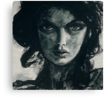 Portrait of Betcee May Canvas Print