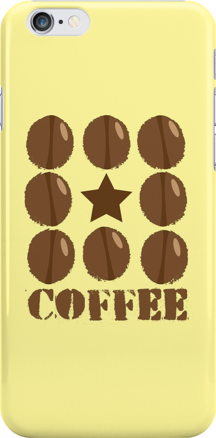 Coffee beans funky coffee design by jazzydevil