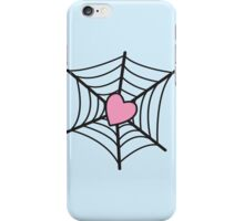 Love Heart Spider web iPhone Case/Skin