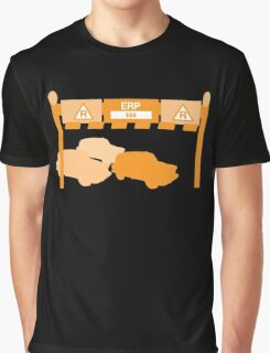 Singapore Toll gate charge system MRT SMRT cars going through a Toll Graphic T-Shirt