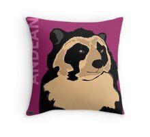 Andean Bear Throw Pillow